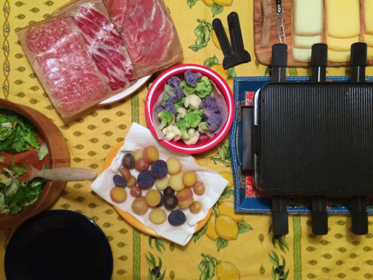 Ready for Raclette
