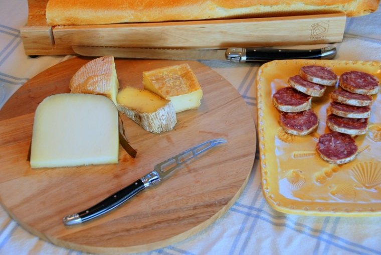Cheese Platter & Four Square