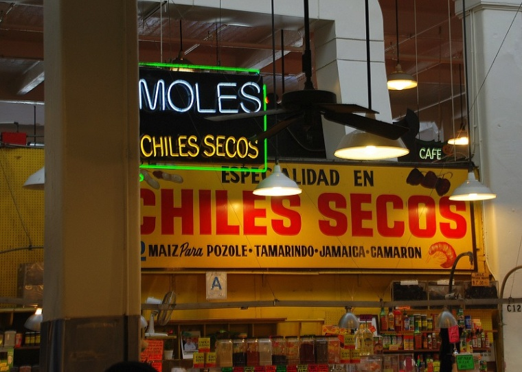 Chiles Secos Grand Central Market