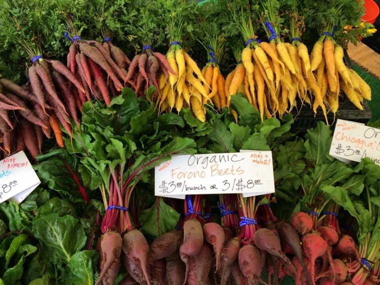Carrots Santa Barabara Farmer's Market