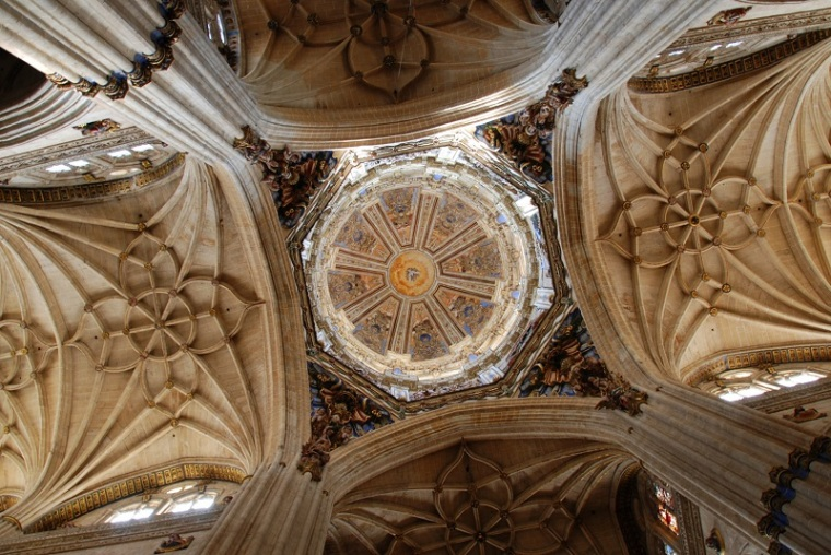 Nave of Salamanca cathedral