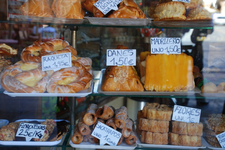 Pastries in Salamanca
