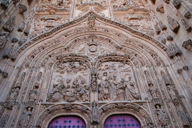Portal of Salamanca cathedral