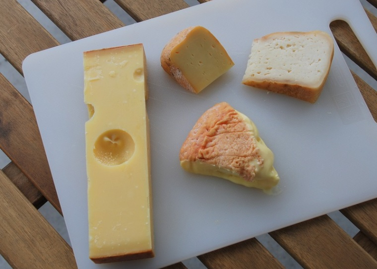 cheese-plate-with-emmentaler