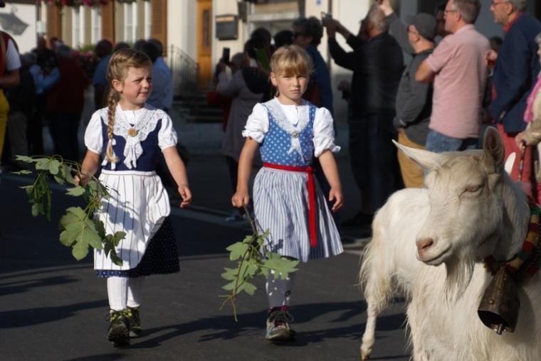 Goat Girls in Appenzell